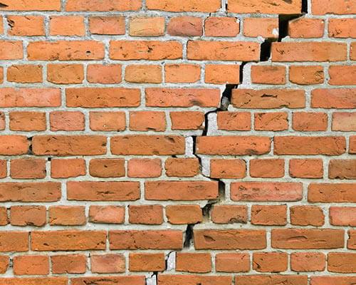 Bricks Crack - Oklahoma Foundation Repair
